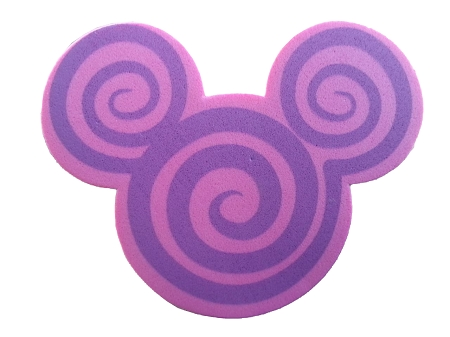 Disney Antenna Topper - Mickey Mouse Icon Swirl - Pink