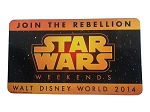 Disney Auto Magnet - Star Wars Weekends 2014