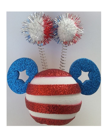 Disney Antenna Topper - 4th of July - Independence Day - Mickey