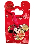 Disney Christmas Pin - Santa Minnie - Mistletoe Kisses