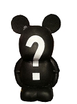 Disney Antenna Topper - Mystery Vinylmation - Black