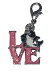 Sea World Dangle Charm - LOVE Shamu Icon