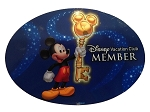 Disney Auto Magnet - Disney Vacation Club Member - Mickey Mouse