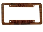 Disney License Plate Frame - Fort Wilderness Resort & Campground