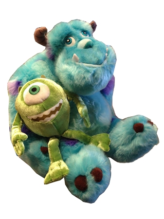Disney Plush - Mike and Sulley - Monster's INC