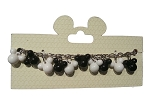 Disney Charm Bracelet - Mickey Mouse Icons - Black and White