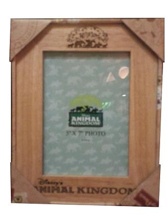 Disney Photo Frame - Etched Animal Kingdom Frame - Wood - 5 x 7
