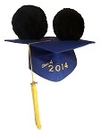 Disney Hat - Ears Graduation Cap - Class Of 2014 - Mortarboard