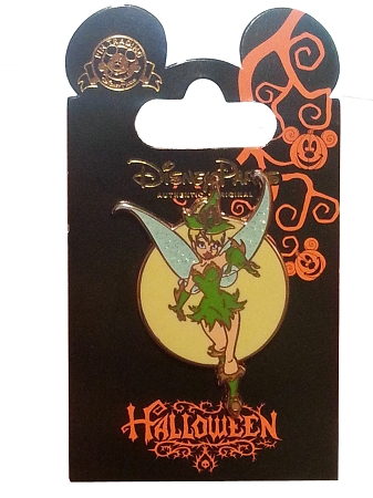 Disney Halloween Pin - Tinker Bell as a Witch