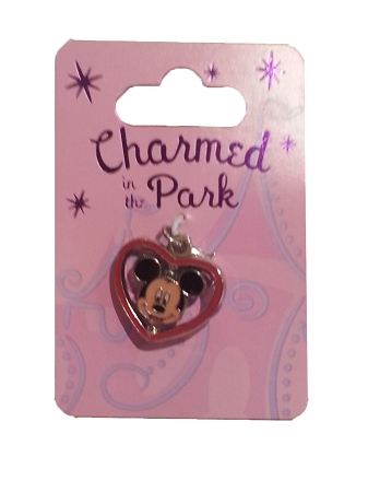 Disney Dangle Charm - Charmed in the Park - Mickey Mouse Spinner