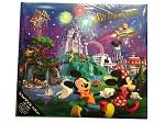Disney Scrapbook Album - Storybook - Walt Disney World - Large - Blue