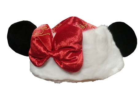 disney christmas hat santa minnie mouse ears