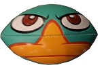 Disney Mini Football - Perry the Platypus - Where's Perry?