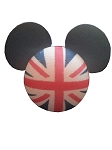 Disney Antenna Topper - Mickey Mouse Flag - United Kingdom England