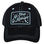 Disney Hat - Baseball Cap - Cinderella - No Sleep til Midnight