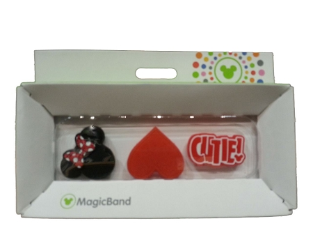 Disney Magic Band - Magic Sliders - Minnie Mouse Cutie Icons