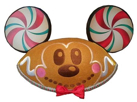 disney hat christmas ear hat gingerbread mickey mouse - Christmas Mickey Mouse