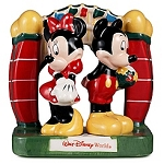 Disney Salt and Pepper Shaker Set - Minnie and Mickey Mouse - 3-Pc.