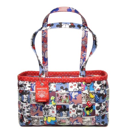 Disney Harveys Bag - Seatbelt Patchwork Satchel - Large