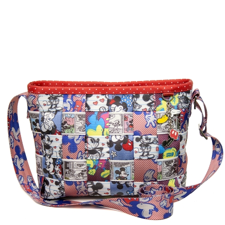Disney Harveys Bag - Seatbelt Patchwork Convertible Tote