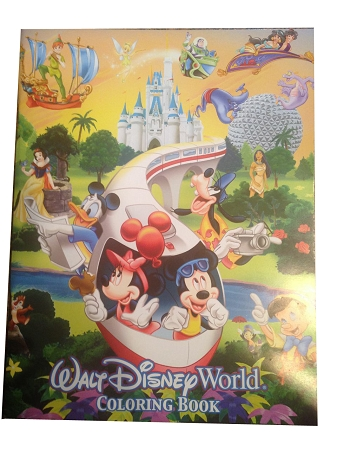 Disney Coloring Book - Walt Disney World Resort