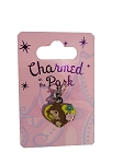 Disney Dangle Charm - Charmed in the Park - Princess Belle Heart