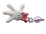 Disney Dangle Charm - Charmed in the Park - Minnie Mouse White Glove