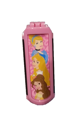 Disney Folding Hairbrush - Princess - Cinderella Aurora Belle
