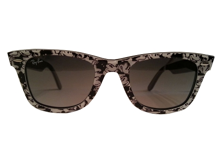 Disney Sunglasses - RayBan - Mickey Mouse - Black and White