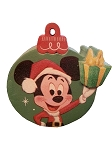 Disney Antenna Topper - Santa Mickey Mouse Christmas Ornament - Retro
