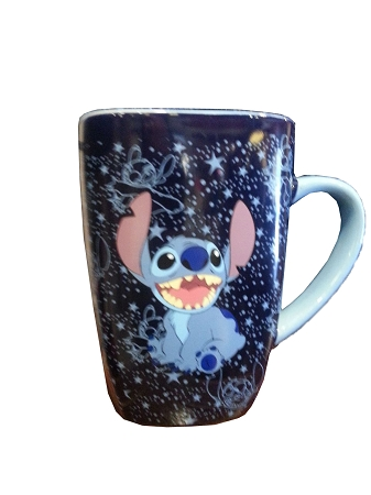 Disney Coffee Mug - Stitch - Stitch in Space - Blue