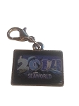 Sea World Dangle Charm - 2014 Sea World Logo