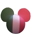 Disney Antenna Topper - Mickey Mouse Flag - Italy
