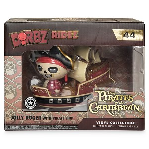 Disney Funko Pop Figure - Jolly Roger with Pirate Ship