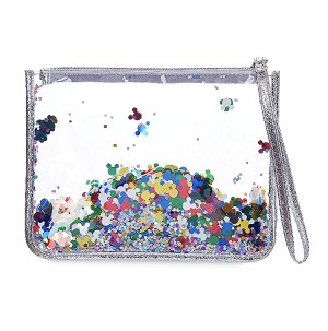Disney Cosmetic Pouch Bag - Mickey Mouse Confetti