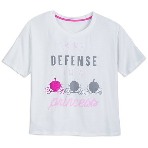 Disney Lounge T-Shirt for Women - In My Defense I'm a Princess