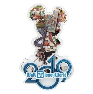 Disney Magnet - 2019 Mickey Mouse - Walt Disney World