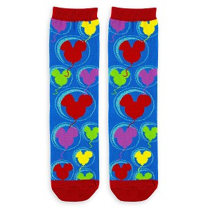 Disney Crew Socks for Adults - Mickey Mouse Balloons
