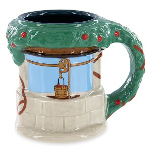 Disney Coffee Mug - Snow White Wishing Well Sculpted