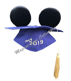 Disney Hat - Mickey Ears Graduation Cap - Class Of 2019 - Mortarboard