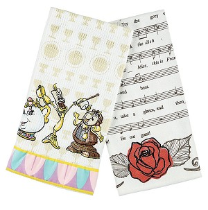 Disney Kitchen Towel Set - Beauty and the Beast