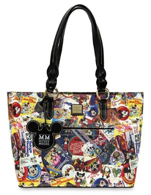 Disney Dooney and Bourke Tote Bag - Mickey's Celebration