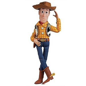 Disney Toy Story Figure - Talking Woody - Action Figure -- 14""