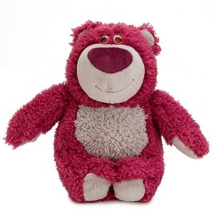 Disney Plush - Toy Story 3 Lotso Toy -- 7'' H