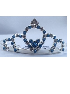 Disney Haircomb - Princess Tiara Barrette - Blue