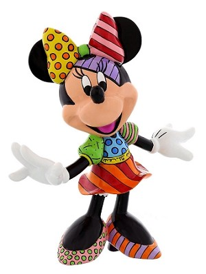 Disney Britto Figurine - Minnie Mouse - Posing