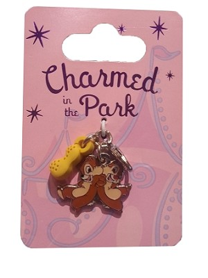 Disney Dangle Charm - Charmed in the Park - Chip n' Dale