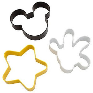 Disney Cookie Cutters - Best of Mickey Mouse -- 3-Pc.