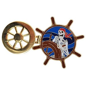 Disney Pirates of the Caribbean Pin - Ship's Wheel