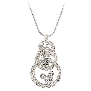 Disney Arribas Necklace - Mickey Mouse Three Circle